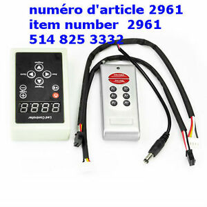 Controller for 5050 RGB LED 6803 IC Chip Dream Magic Color Chasi
