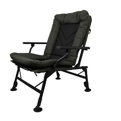 Prologic NEW Cruzade Carp Fishing Comfort Chair With Arms Fishing 54958