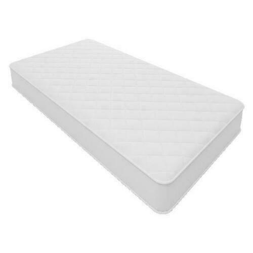 """Twin Size 6"""" Firm Inner Spring Mattress Quilted Cover Coil Spring Comfort Bed"""