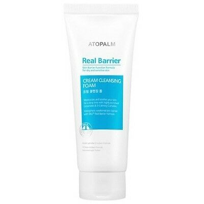 ATOPALM Real Barrier Cream Cleansing Foam 150g Mild Smoothing Skin Care K beauty