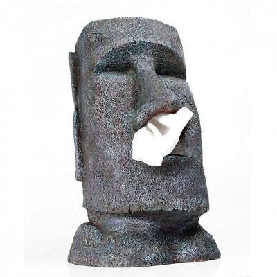 BIG MOAI Taschentuchspender NEU/OVP Kleenex Box Kosmetiktuch Halter (Insel Dekorationen)