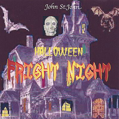 John St. John - Halloween Fright Night [New - Halloween Fright Night Cd