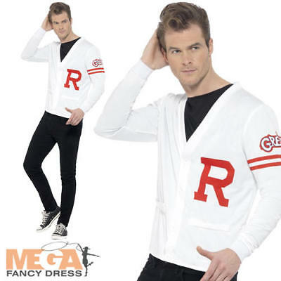 Grease Rydell Prep Mens Fancy Dress 1950s High School Character Adulds Costume