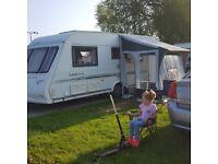 Compass Omega 524 caravan, 4 berth, motor mover
