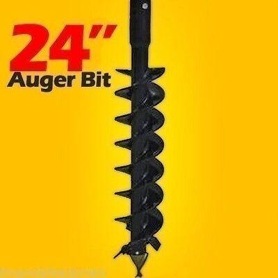 24 Skid Steer Auger Bit Mcmillen Hdcfor Difficult Digging2 Hex Driveinstock