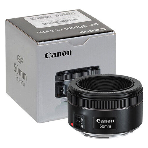 Canon EF 50mm f/1.8 STM Lens in ORIGINAL RETAIL BOX -   10 - Canon EF 50mm f/1.8 STM Lens in ORIGINAL RETAIL BOX