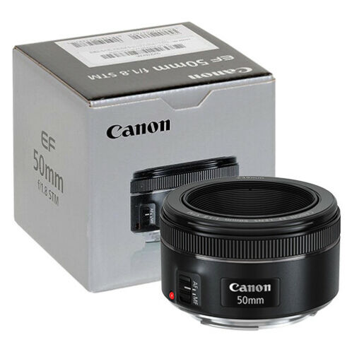Canon EF 50mm f/1.8 STM Lens in ORIGINAL RETAIL BOX -   84 - Canon EF 50mm f/1.8 STM Lens in ORIGINAL RETAIL BOX