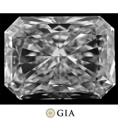 3.03 carat Radiant cut Diamond GIA report H color VS1 clarity no fl. loose