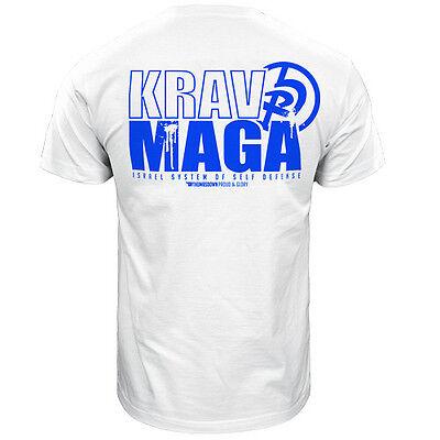 T-Shirt Thumbsdown Krav Maga ! Perfekt für Mma , Training, Freizeit Kleidung!