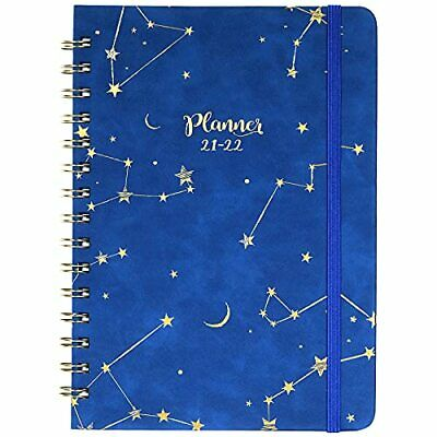 2021-2022 Planner Weekly Monthly Planner With Tabs 6.3x8.4 Jul 2021 - Jun 2022