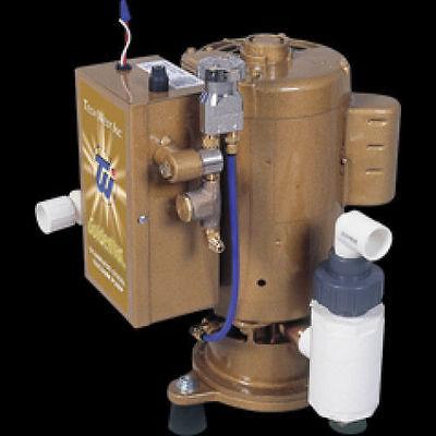 Tech West Dental Goldenvac Stainless Steel Vacuum Pump W Recycler 5 User 2 Hp