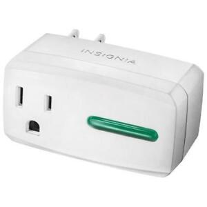 Insignia NS-SP1X7-C Wi-Fi Smart Plug (Open Box)