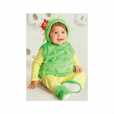 NEW Cactus Halloween Costume Baby Boys Girls 12-18 Months Vest Shirt - Cactus Costume Halloween