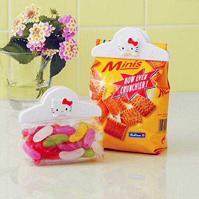 Hello Kitty Kitchen Clip Food Snacks Storage Bag Sealing Lock Sealer Clamp Grips ()