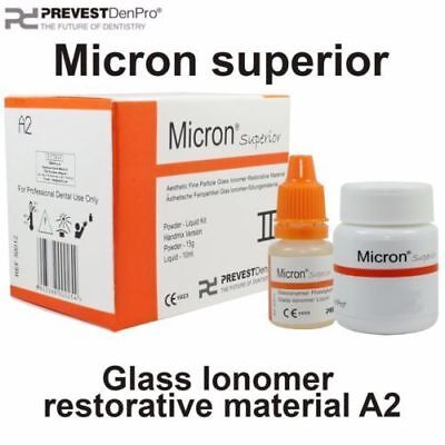Dental Radiopaque Glass Ionomer Filling Material Micron Superior Prevest Denpro