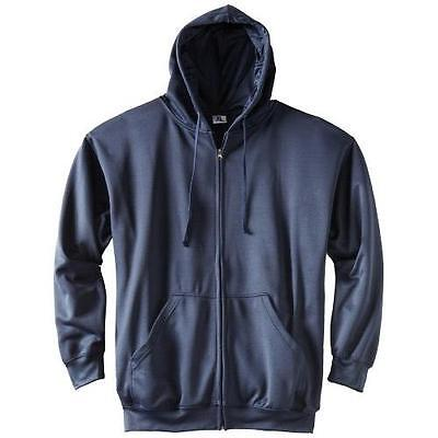 Russell Athletic Men's Big & Tall Full Zip Fleece Hoodie- XL