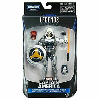Marvel Legends Series Captain America: Taskmaster Action Figure BAF Red Skull