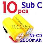 10 Sub C NiCd