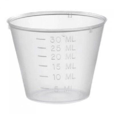 Lot Of 300 Plastic Medicine Cups 1oz Graduated Measuring Cup Bulk Deal