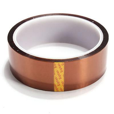 30mm 100ft Kapton Tape Resistant High Temperature Pcb Bga Wave Soldering New