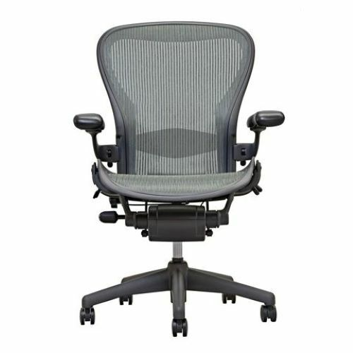 Herman Miller Aeron Chair   Grey  ( Lead)   Open Box   Size B