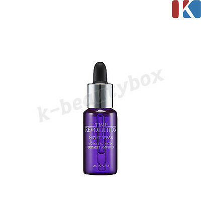 MISSHA Time Revolution Night Repair Borabit Ampoule 10ml / Korean Best Skin