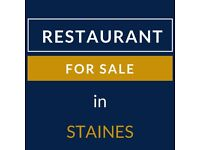 Indian Restaurant for Sale in Staines