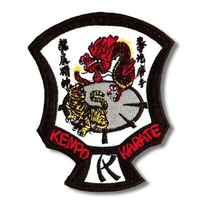 Kenpo Karate Martial Arts Patch - 3 Sizes!