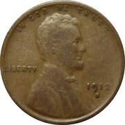 1912 s Wheat Penny