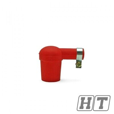 SPARK PLUG TNT SILICONE RED FOR MOTORCYCLE SCOOTER