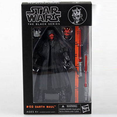 "Darth Maul:Star wars the Black Series 6""Action Figure Xmas gift new in box"
