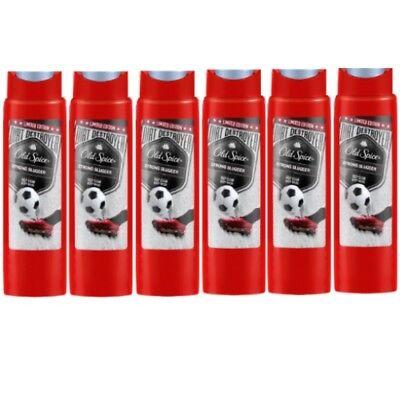Spice (Old Spice STRONG SLUGGER Shower Gel / Duschgel 250ml 6er Pack)