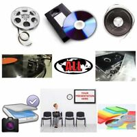 Audio, Video, Film Conversion to DVD or CD @ Immediator
