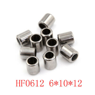 10pcs Hf0612 6x10x12mm One Way Clutch Miniature Needle Roller Bearing Xe
