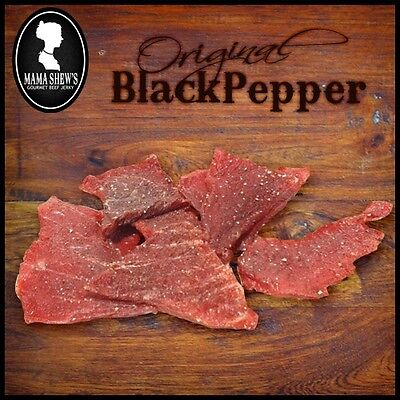 Mama Shews Gourmet Beef Jerky 1.5 lbs.(Voted the BEST) many flavors to pick