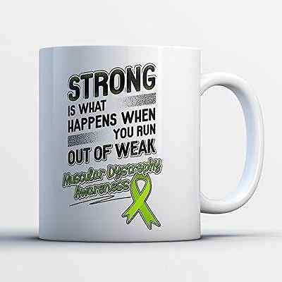 Awareness Coffee Mug - Muscular Dystrophy Awareness - Adorable 11 oz White (Awareness Mug)
