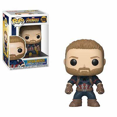 Funko POP!: Marvel: Vengadores: Infinity War: Capitán América