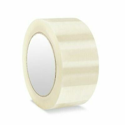 36 Rolls Clear Packing Packaging Carton Sealing Tape 2 2.0 Mil 110 Yards 330