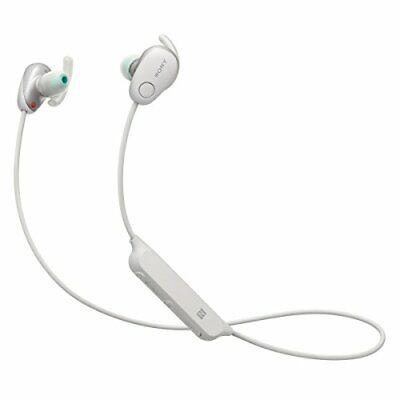 Sony Bluetooth Wireless Noise Canceling Sports Headphones SP600N - White