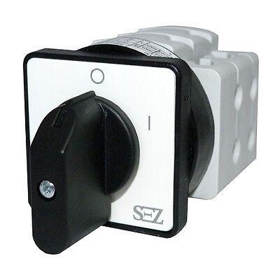 Nockenschalter Umschalter 10A 0-1 Drehschalter Wendeschalter 3P S10 JD 1103 A6