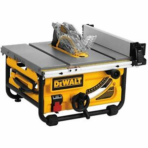 Dewalt 10-inch Compact Job Site Table Saw - great condition