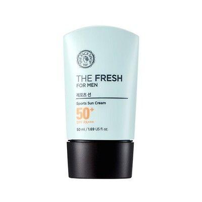 [The FACE Shop] The Fresh For Men Sports Sun Cream SPF50+ PA+++ 50ml /Korea (Best Spf For Men)