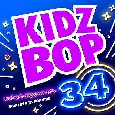 Kidz Bop Kids   Kidz Bop 34  New Cd