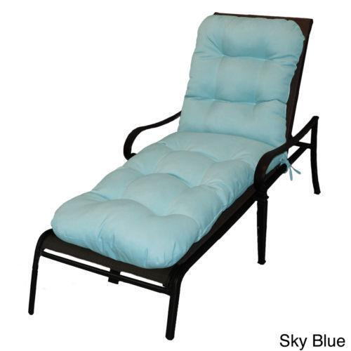 blue chaise lounge cushions ebay