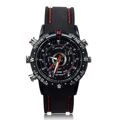 Waterproof Wrist Watch SPY Hidden Camera Digital Video DVR Camcorder Ornate