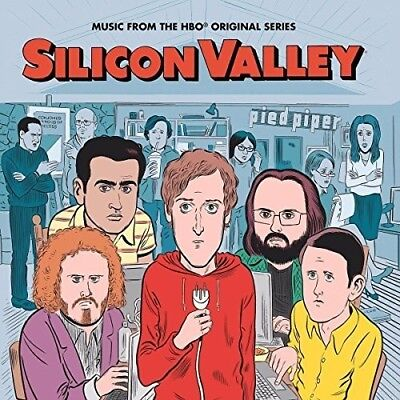 Various Artists - Silicon Valley: The Soundtrack [New Vinyl LP] Red, Shrink Wrap
