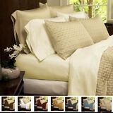 Luxury 2200 Count Rayon from Bamboo 6 Piece Set Bed Sheets