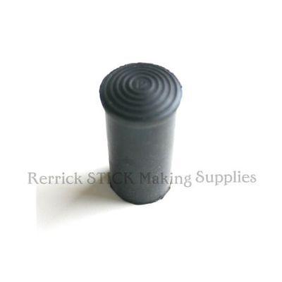 Three Walking Stick Ferrules Rubber 18mm