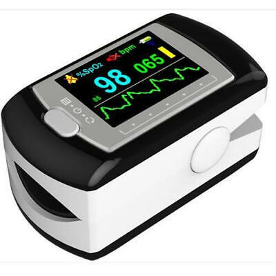 Contec Multi-color Oled Rechargeable Finger Pulse Oximeter Cd-rom Free Case