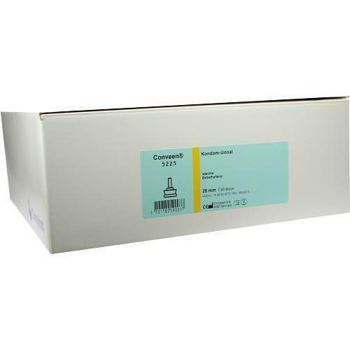 CONVEEN Kondom Urin.latexfr.25mm 5225 selbsth. 30 St